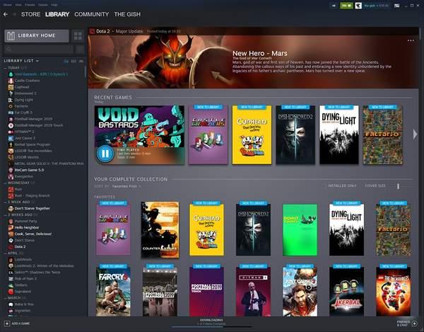 V社公开Steam游戏库新界面 内容更加丰富、清晰直观
