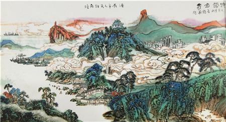 收藏与推荐:画家章秋华艺术赏析