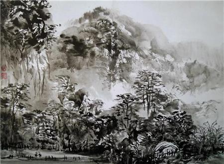 收藏与推荐:著名画家游桂光作品赏析