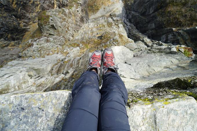 不恐高者与604米悬崖的零距离