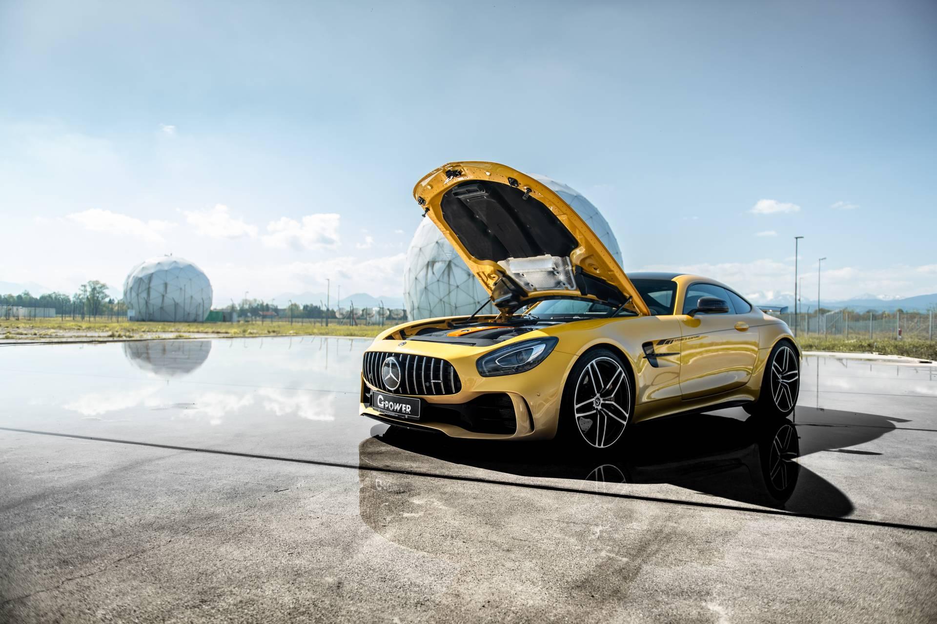 奔驰AMG GT R的4.0L V8释放789马力 来自G-Power