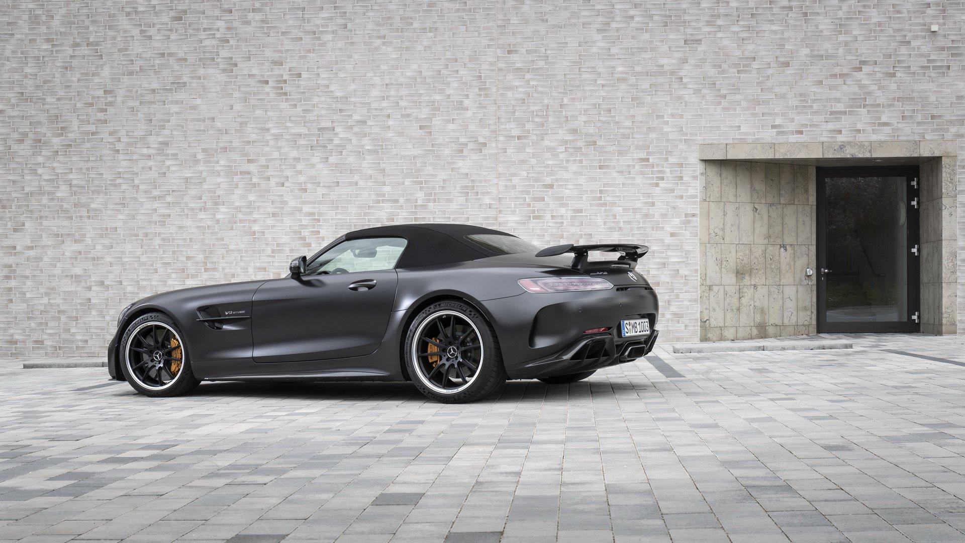 梅赛德斯-AMG GT R软顶敞篷跑车 豪华标杆