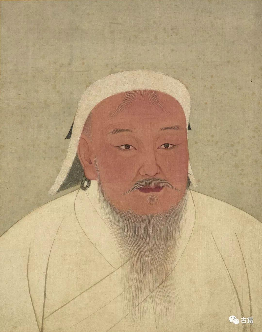 故宫藏宋、元、明、清朝历代皇帝画像
