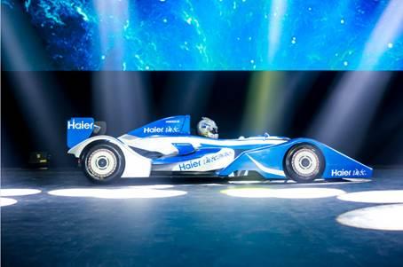 海尔独创一体化直驱电机能驱动跑车