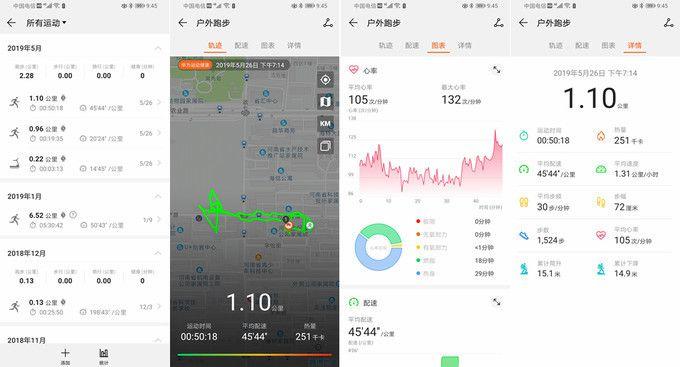 华为 WATCH GT简评 全天候监测运动健康