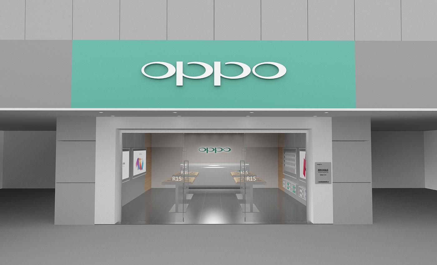 OPPO手机专卖店设计
