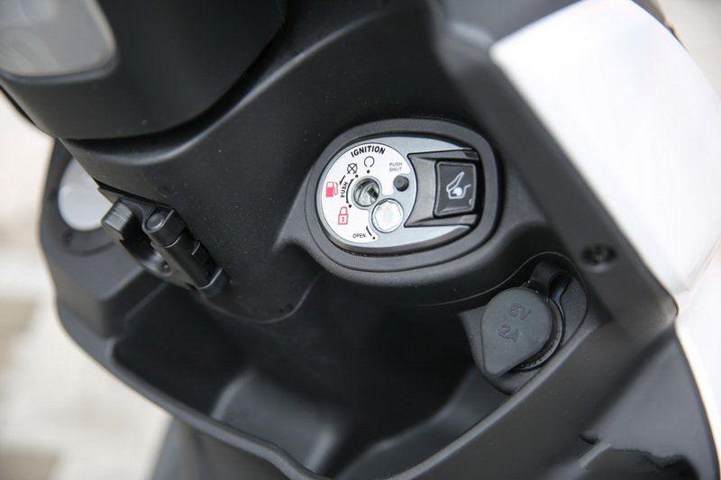 三阳FNX150踏板车_ 超越同级,安全与性能实用性兼