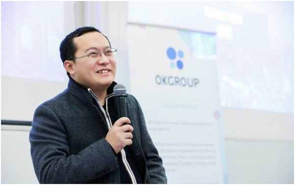徐明星追梦区块链 OKGroup抢占技术制高点
