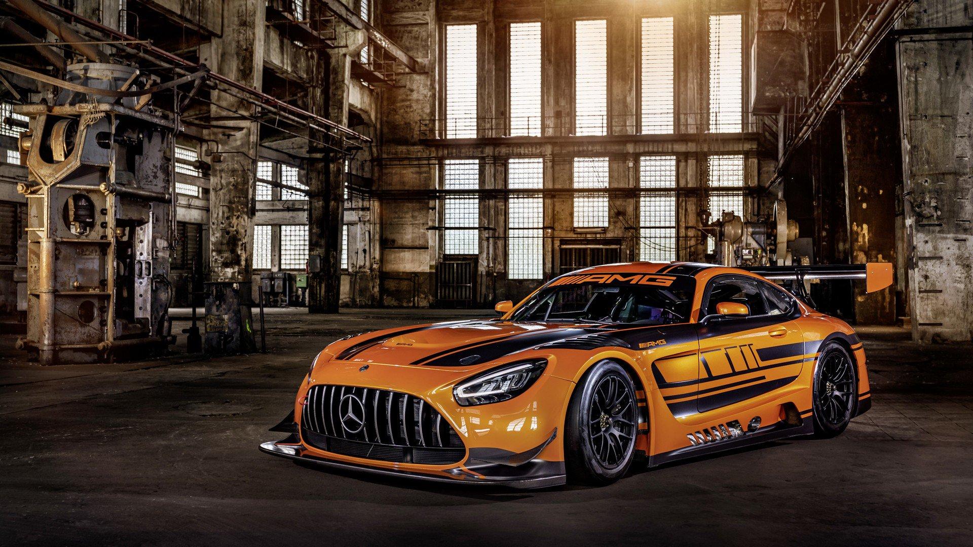 梅赛德斯AMG GT3赛车版 凶猛进化
