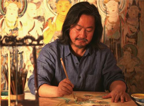 敦煌画家黄有为的壁画艺术