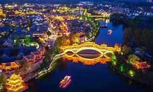 印象台儿庄:灯火阑珊时,古城夜未央