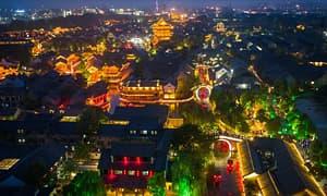 台儿庄古城夜景美如画 | 这里有颜值,也有故事