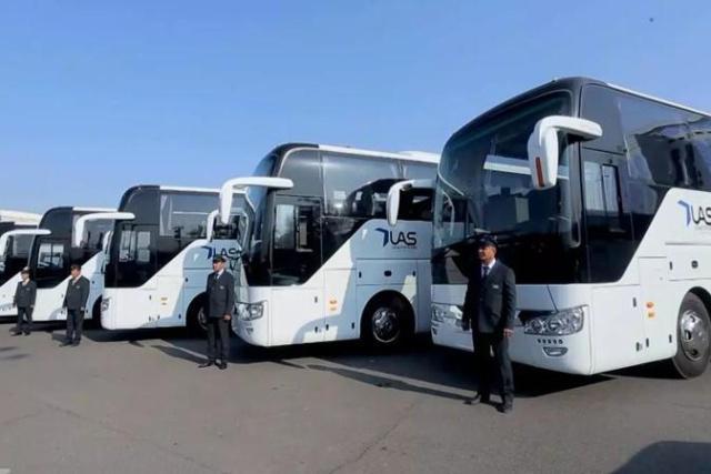 總統督辦烏茲別克最大批量168臺宇通大巴成功交付