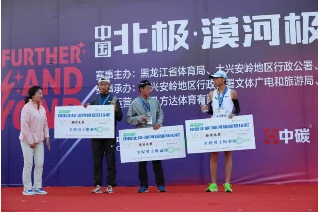 赛事   2019中国北极漠河极昼马拉松鸣枪开赛