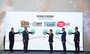 泰国LED EXPO Thailand 2019开展,结合楼宇消防推动节能应用