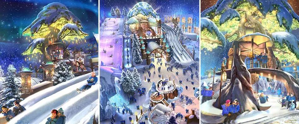 是迪拜滑雪場的4倍!世界上最大的冰雪公園將在阿布扎比開放