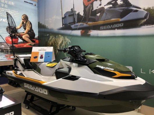 Sea-Doo喜度摩托艇亮相2019上海国际游艇展