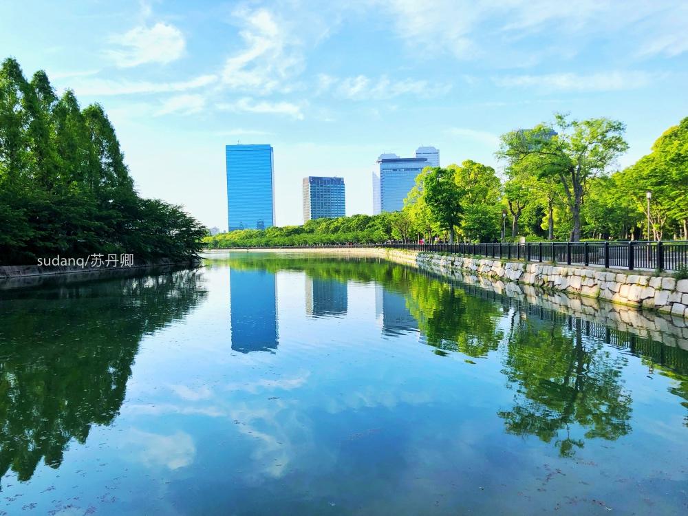 大阪城,日本三大历史名城之一:天守阁,日本重点文化遗产