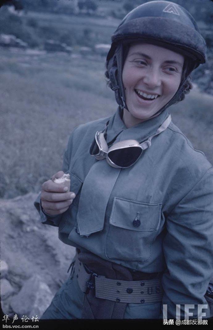 二战时,法国战地性感美女