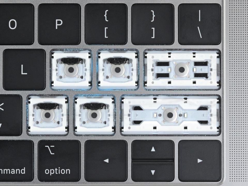 下一代MacBook Pro、Air重回剪刀式键盘 蝶式键盘被抛弃的照片 - 2