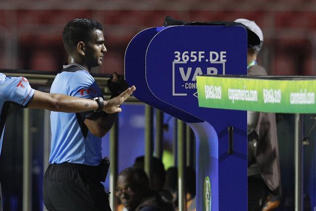 365体育统计美洲杯10场竞赛已移用VAR13次