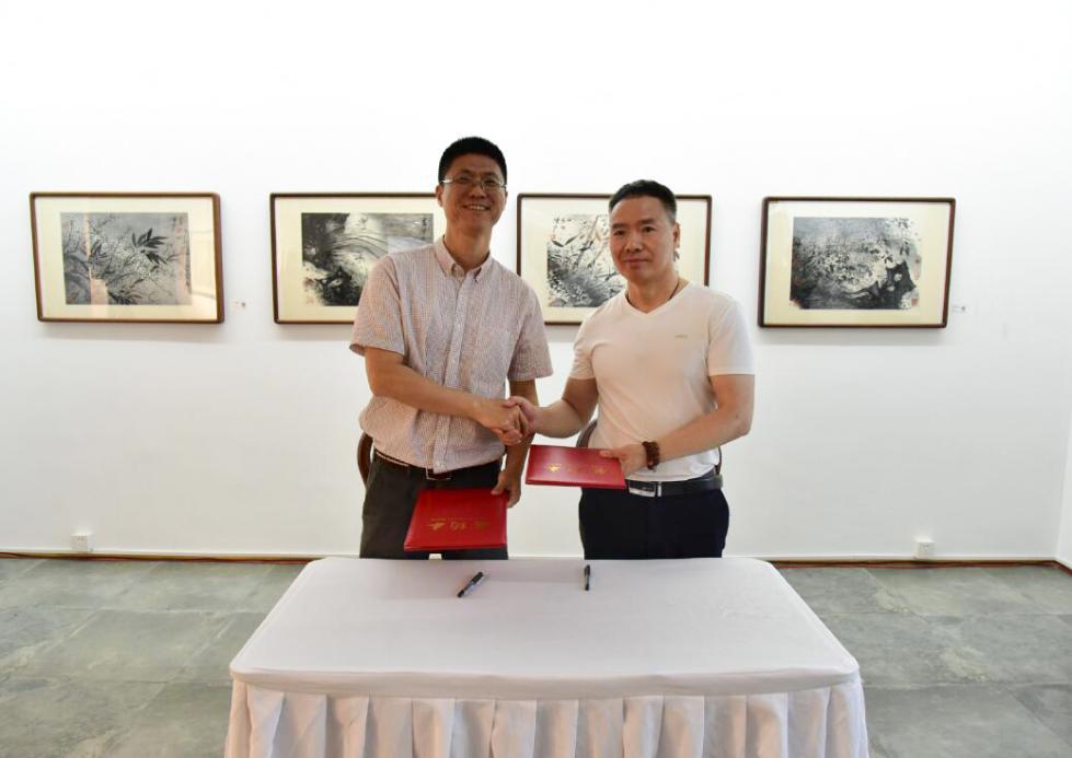 清凉有境——当代名家书画作品展在钱塘之畔成功开幕