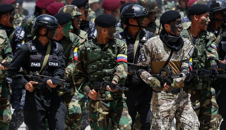 委内瑞拉举行独立208周年阅兵式 中俄武器成为主流装备 图1