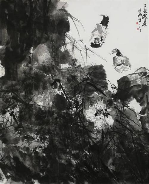 彰显生命情韵的写意花鸟 学者型画家蒋维刚作品赏析-中国传真