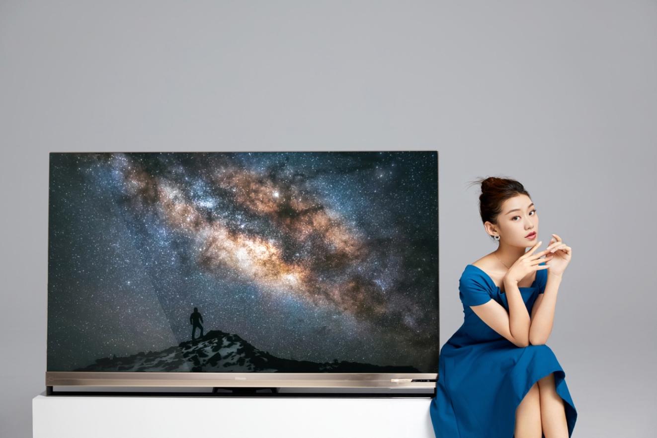 海信发布全球首款叠屏电视 售价17999元的照片 - 1