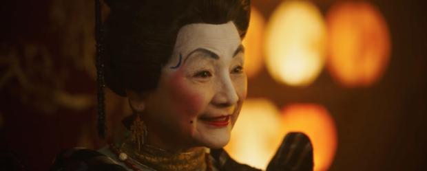 """《花木兰》刘亦菲妆容像日本艺伎?实为古代""""额黄妆""""的照片 - 4"""