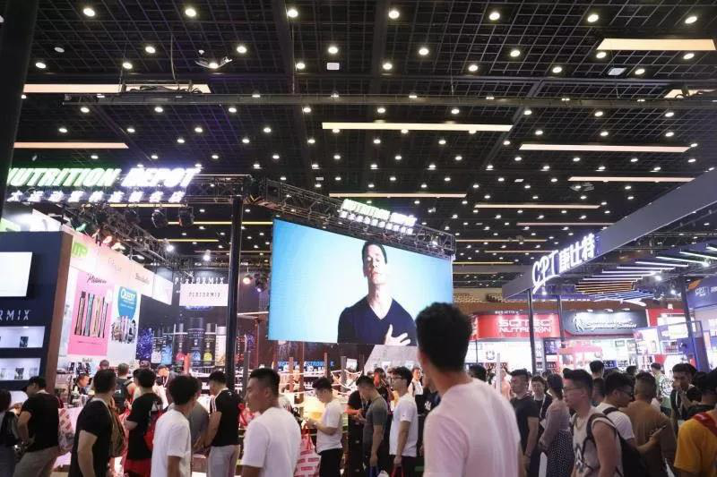 Nutrition Depot美丽绽放第八届CHINAFIT北京春季体育与健身大会