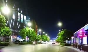 江苏宿迁市已将1.4万盏路灯改造为LED,节电率达57%