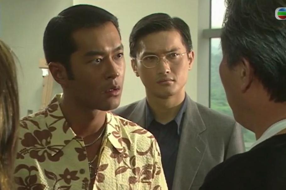 "TVB经典系列:还记得被两个兄弟坑""死""的他吗?_许文"