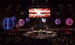 科技感十足舞台灯光设计