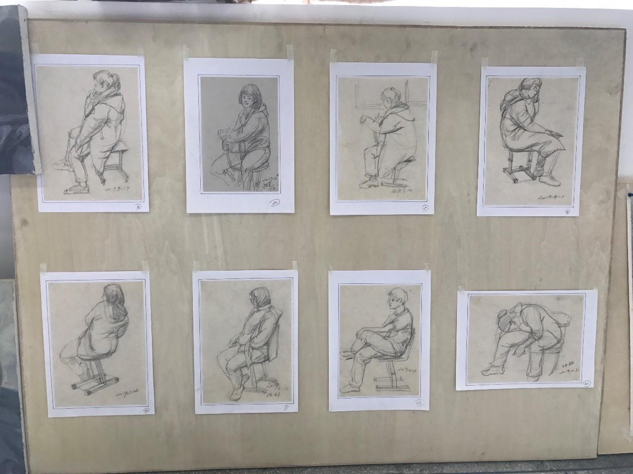 """8幅插画的诞生!新格林艺术高中的期末总结是原创的青春智慧!"""""""