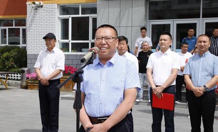 """不忘初心,牢记使命: """"童在蓝天下""""慈善项目救助敦化40名小学生-中国传真"""