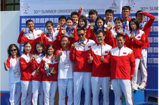 包揽男女团体冠军,大夏会中国跳水队完美收官