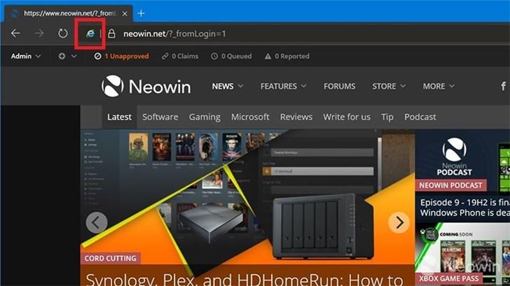 基于Chromium的Edge浏览器终于可以使用IE Mode了的照片 - 2