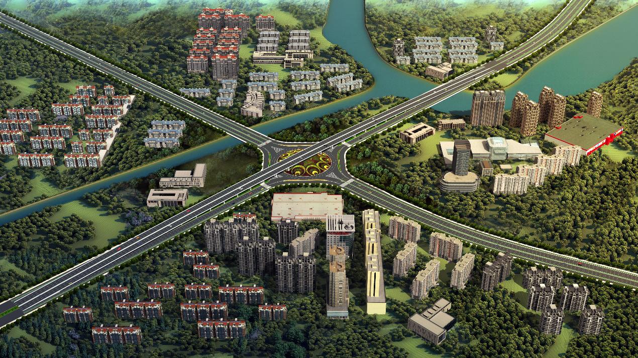 中建二局投资公司华东分公司 中标武汉黄陂区前川中环线快速化改造工程
