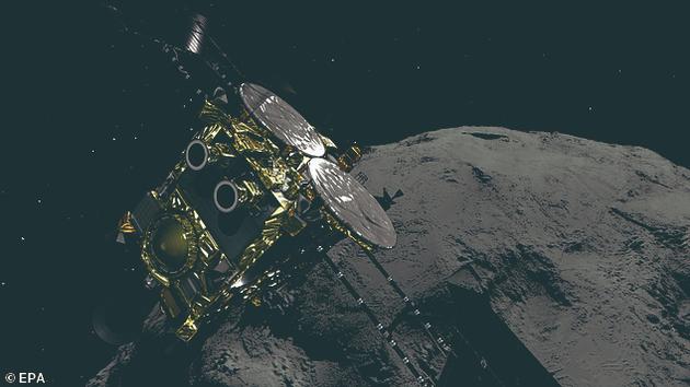 """日本隼鸟2号探测器再次着陆小行星""""龙宫"""""""