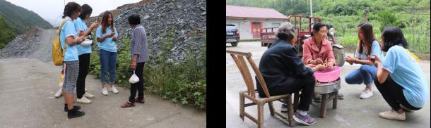 """武汉理工大学经济学院""""经准e农""""暑期社会实践队调研后坪镇 走访农户 助力扶贫"""