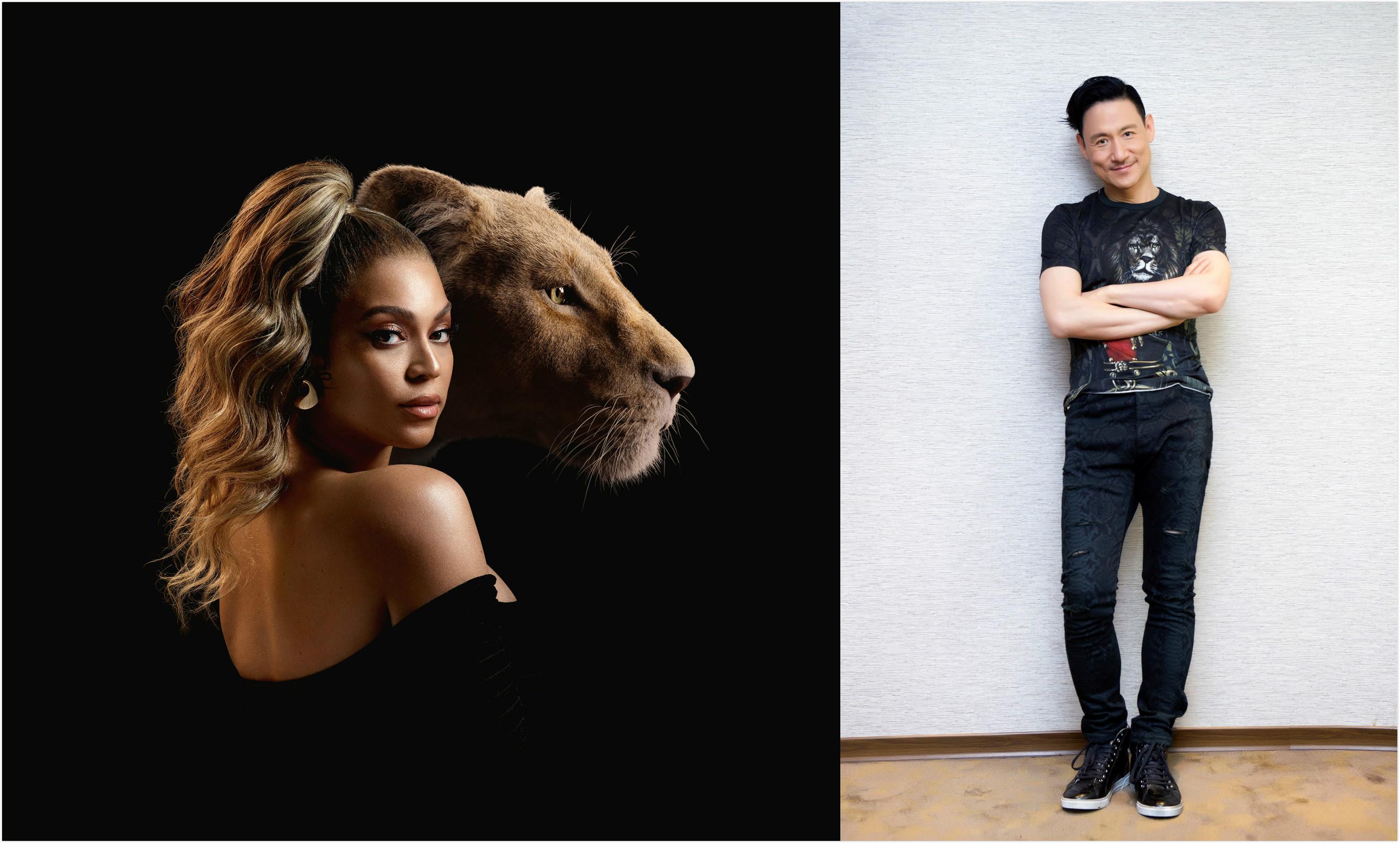 张学友 Beyoncé 联手献声迪士尼经典电影《狮子王》