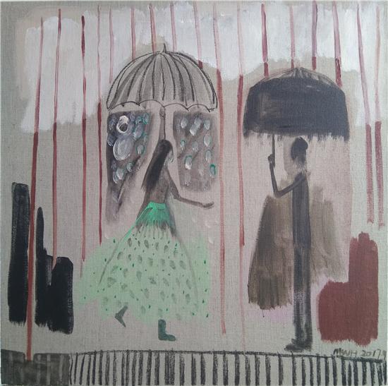 无法触碰――马炜红作品展