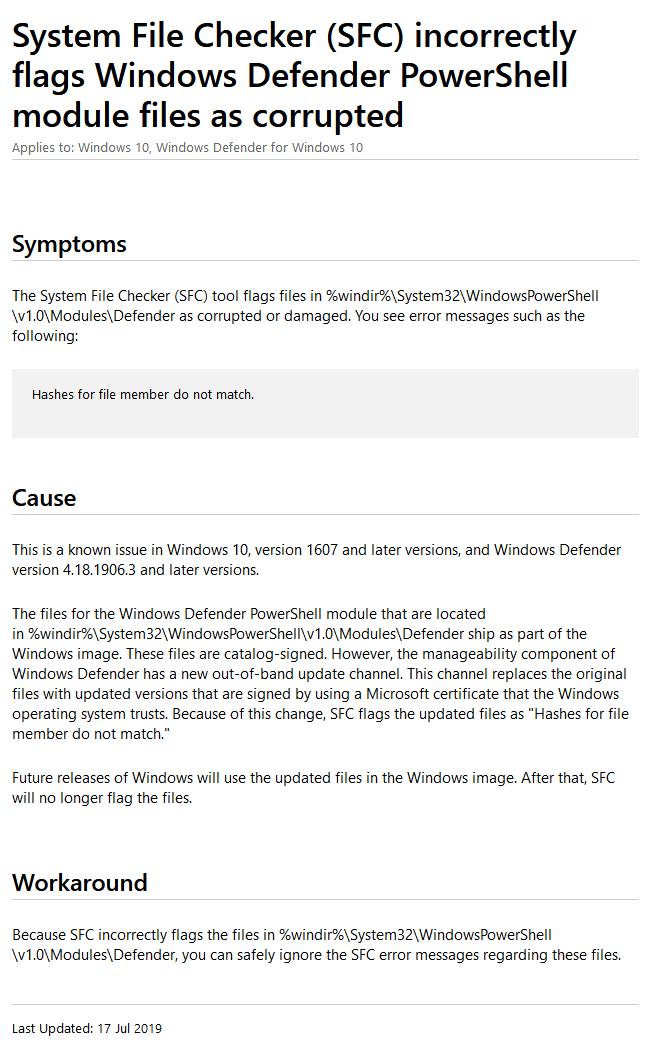 微软承认Win10中存在sfc /scannow无法正常运行问题的照片 - 5