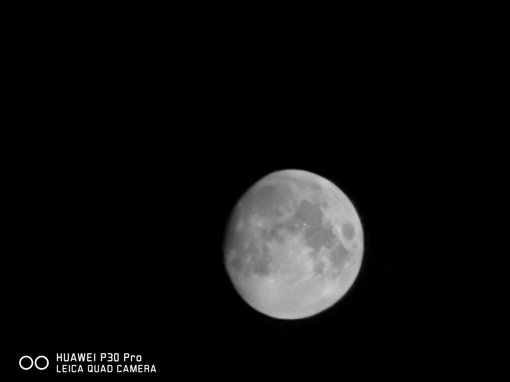 华为拍月亮方法已申请专利:拍高清月亮就看它了的照片 - 7