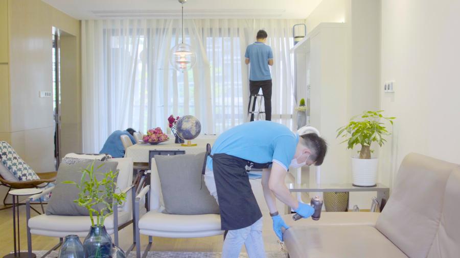 刚装修过的新房怎样保洁,深圳开荒保洁多钱一平?