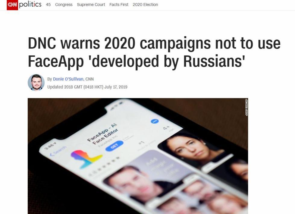 俄罗斯出了款风靡西方的手机App 却把美国政客吓坏了的照片 - 5