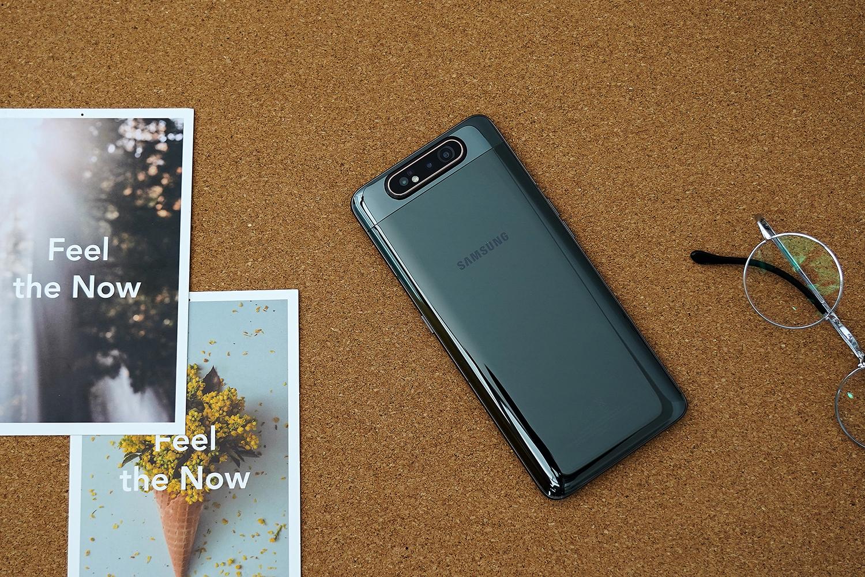 三星Galaxy A80上线 实测使用 旋转升降摄像头更炫酷