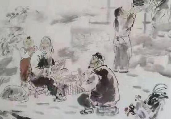著名画家王艺千艺术世界中的文化视野