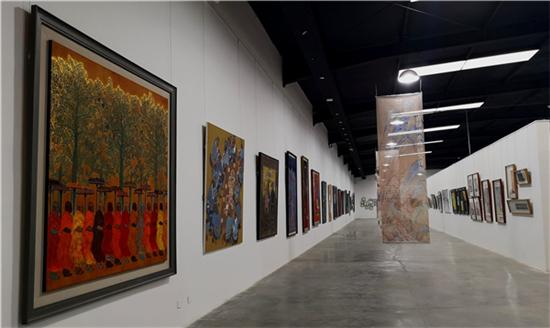 峰高无坦途―李可染画院艺术研究中心研究展在北京上上国际美术馆隆重开幕